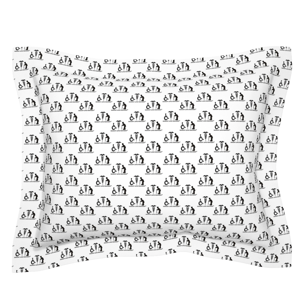 Sebright Pillow Sham featuring The Reminders (a) by chloejsmith