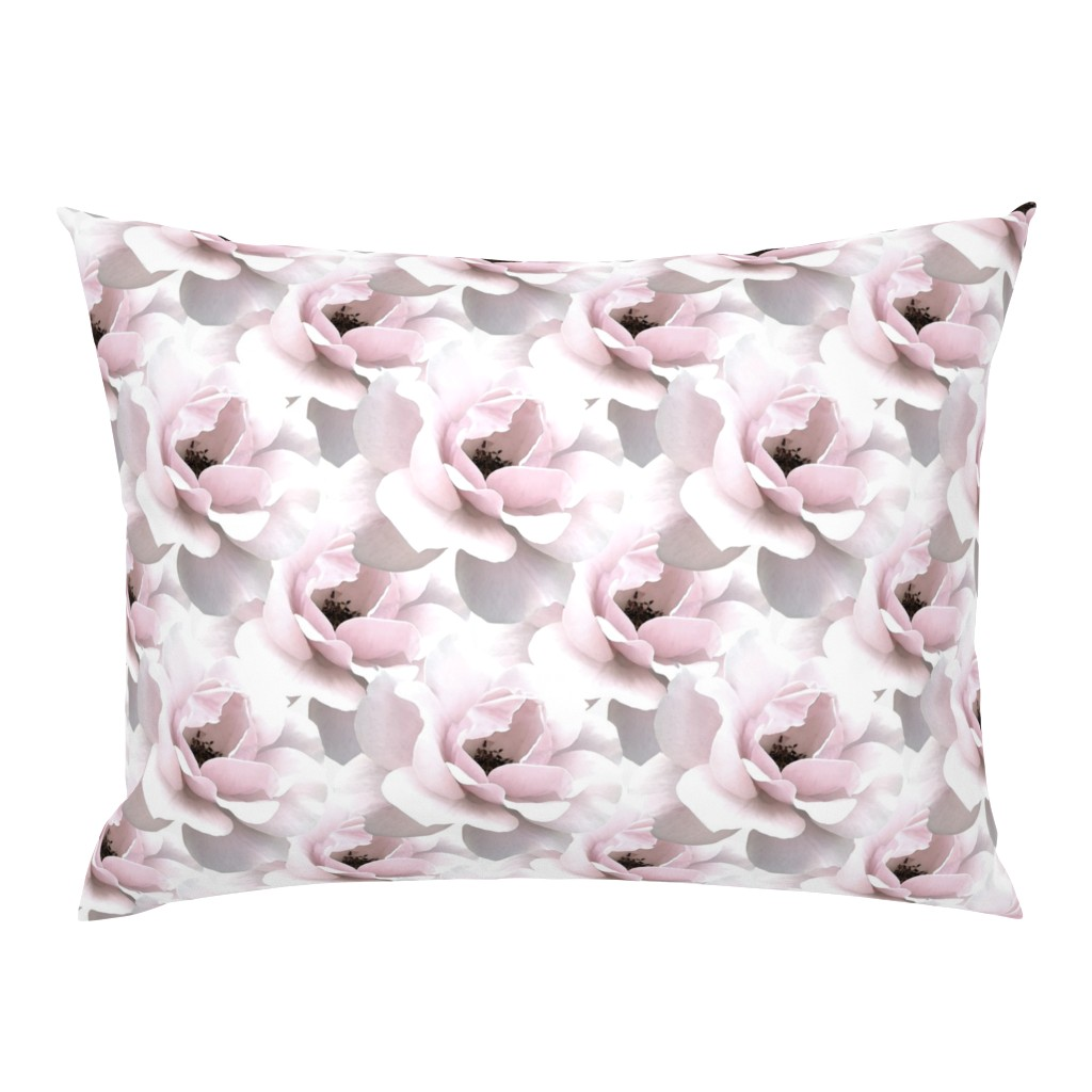 Campine Pillow Sham featuring Ultimate_Rose by artonfabric