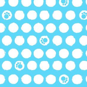 Paw Print Dots