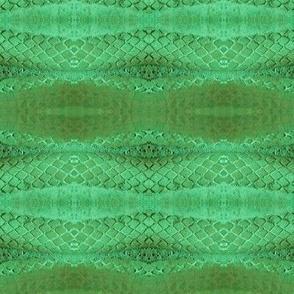 Horizontal Snakeskin (Emerald)
