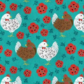 Chookies and Poppies