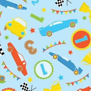 Race Cars Boys 10