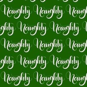 Naughty - Green - Christmas