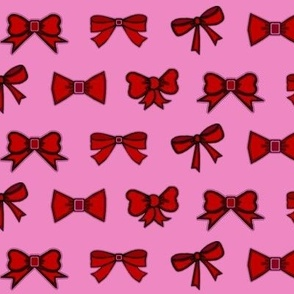 party bows /pink-side