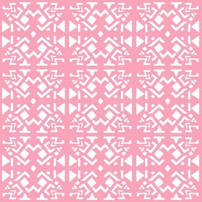AZTEC ABSTRACT Soft Pink