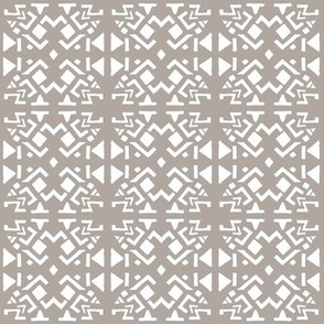 AZTEC ABSTRACT Cement Grey