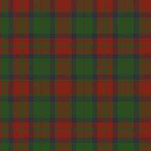 """78th Fraser Highlanders tartan - 10"""""""