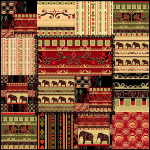 African history . Patchwork .