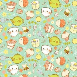 Garden Tea Party - Smaller Print