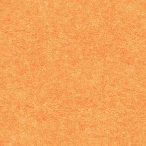 faux Hodden / wodmel fabric, creamsicle orange