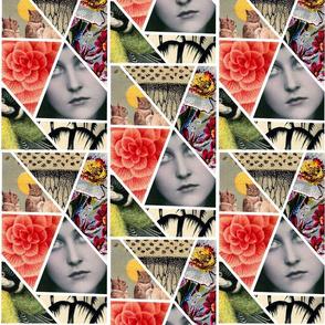Vintage Collage Chimera