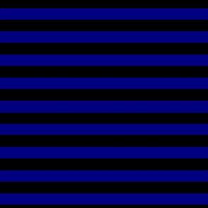 Stripes Blue and Black