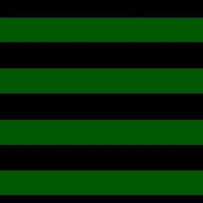Stripes Green and Black Halloween Stripes