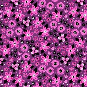 Flower Patch (Purple)