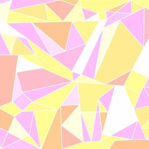 Warm Pastels Geometric
