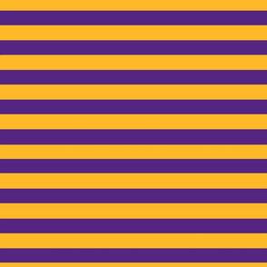 Stripes Big Purple and Gold