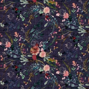 Fable Floral (grape) SMALL