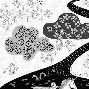 Baby Kraken Watercolor