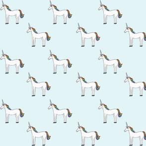 unicorns blue