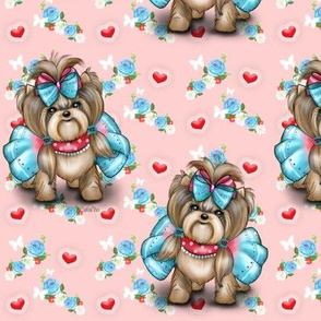 Yorkie_welcome_spring M