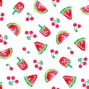 Watermelons and Cherries