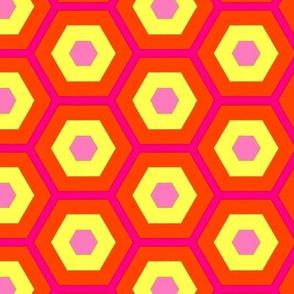 colorful_pink_yellow_orange_hexagons