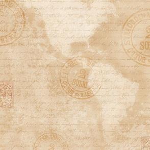 Antique Map Medium