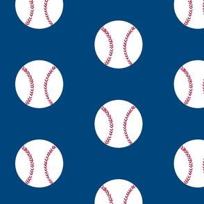 Baseball ocean blue- Large 7