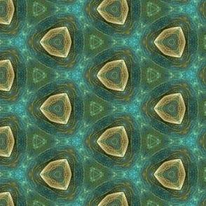 watercolor_green_cream_triangles