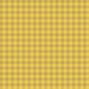 bayeux gingham - yellow