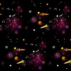 nebula rockets stars planets mix 2