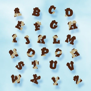 Giraffe Skin Alphabet