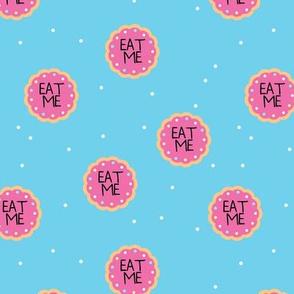 Alice in Wonderland Eat Me - Pink