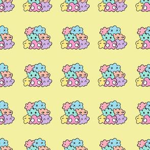 Happy Rainbow Blobs
