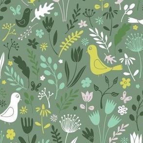 Papercut Meadow - Springtime