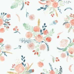 Corrie's Watercolor Bouquets