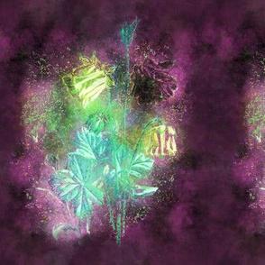FAIRYTALE DREAM FLOWERS BOUQUET BURGUNDY