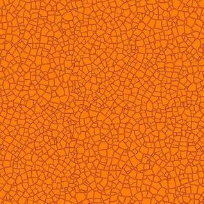 Indian saffron crackle
