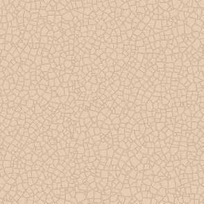 Natural tan crackle