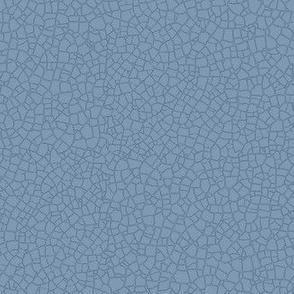 Natural denim blue crackle