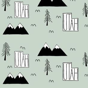 Utah Mountains   Sage