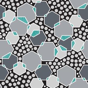 Intersecting Hexagons (Modern)