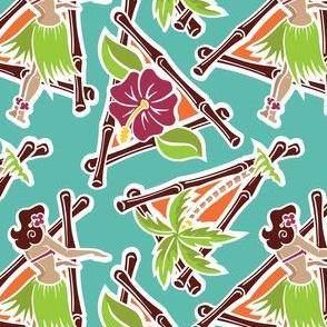 Maui Pop - Hula Honey - Aqua