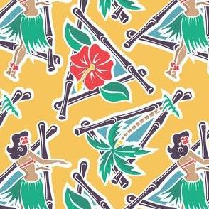Maui Pop - Hula Honey - Yellow