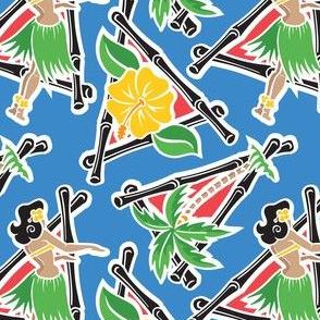 Maui Pop - Hula Honey - Blue