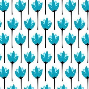 Tulip Fields (Blue)
