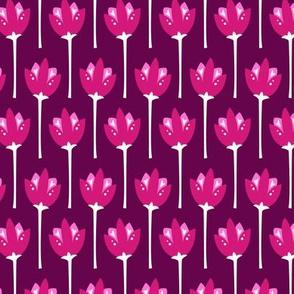 Tulip Fields (Dark Pink)
