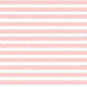 Peach Ribbon stripes
