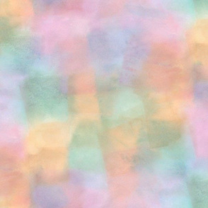 fiesta watercolor squares - pastel