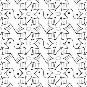 06398615 : tess 2 bird 1 bloom 2 outline